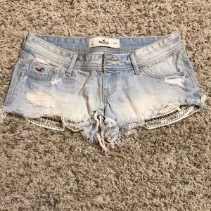 Hollister Studded Pocket Shorts